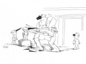 Caricature © A. Tallil